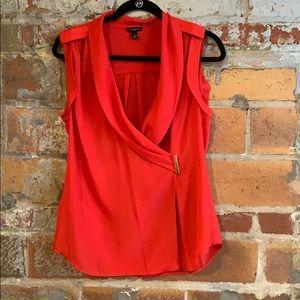Ann Taylor wrap blouse